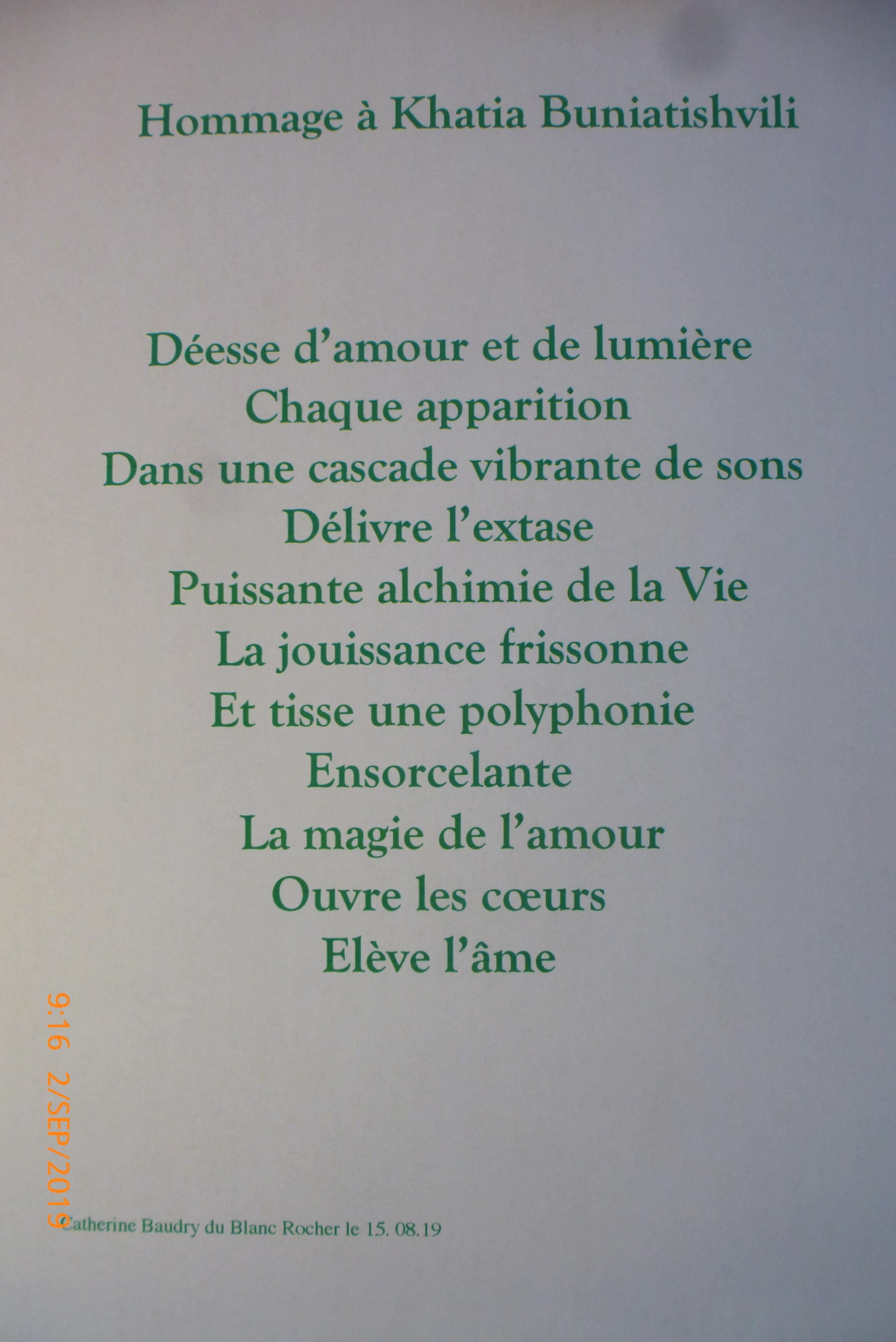 image poesie